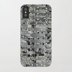 Knowing Wink (P/D3 Glitch Collage Studies) iPhone X Slim Case