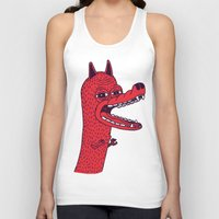 tim shumate Tank Tops featuring Angry Tim by Tibia Tibia