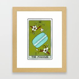 The Macaron | Baker's Tarot Framed Art Print