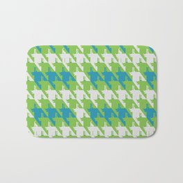 Where is the reindeer of Santa?_L  Lgray&Lime Bath Mat