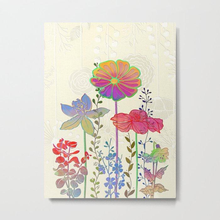 Flower Tales 4 Metal Print