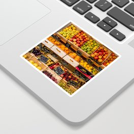 Groceries, Nice France Sticker