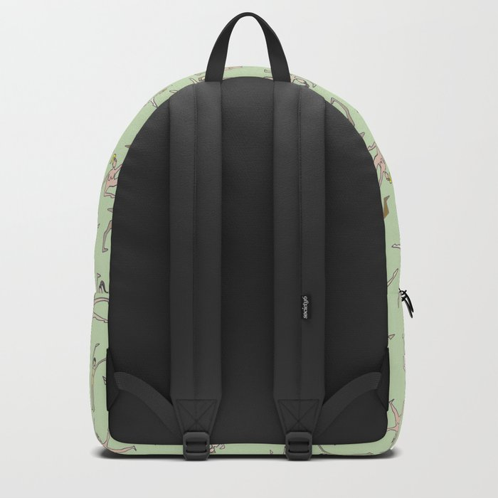 Girls In Color With Boobs Backpack
