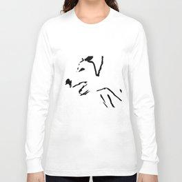 Angry Big Dog Long Sleeve T-shirt