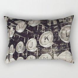 words Rectangular Pillow
