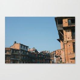 Bhaktapur Canvas Print
