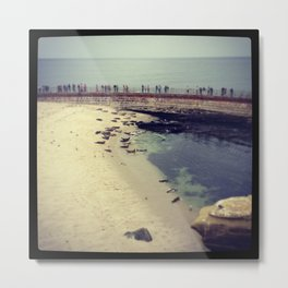 Seal Beach, La Jolla, CA Metal Print