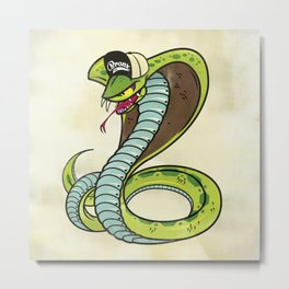 Bronx Zoo Cobra! Metal Print