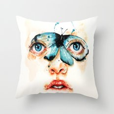 Nothin Throw Pillow