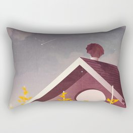 Shooting Stars Rectangular Pillow