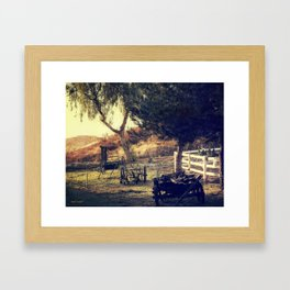 Early Morning Light Framed Art Print