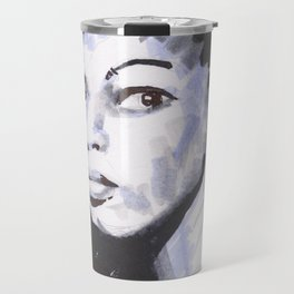 The Virtuoso - tricolor portrait serie Travel Mug