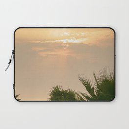 cloudy sky in the oasis Laptop Sleeve