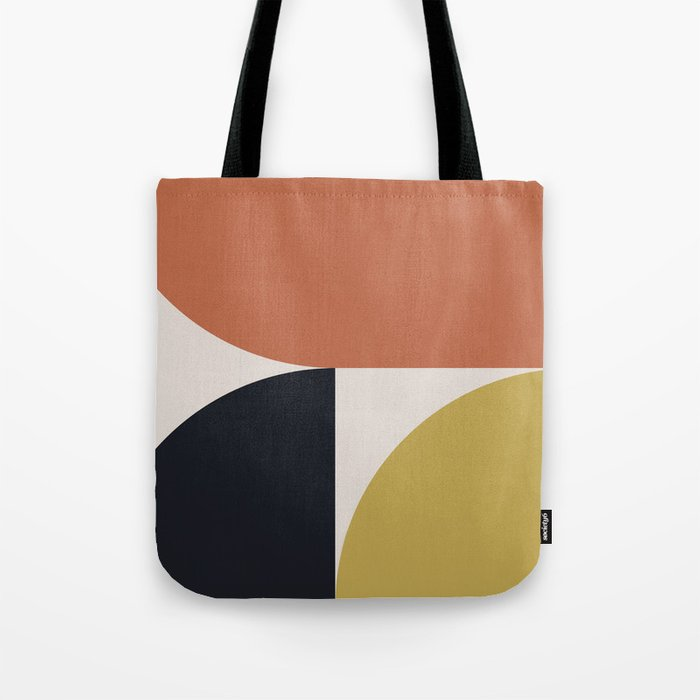Mid Century Modern Abstract II Tote Bag