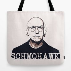 Schmohawk  |  Larry David   Tote Bag