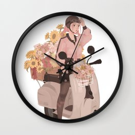 Mona's Delivery Service Wall Clock