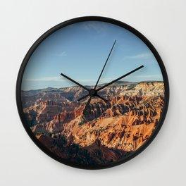 Cedar Breaks. Wall Clock