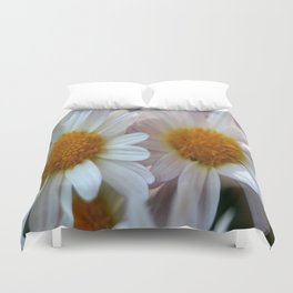 Hazy Day Daisies  Duvet Cover