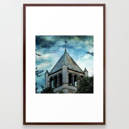 Just Observe Framed Art Print