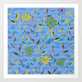 Ocean Currents Art Print