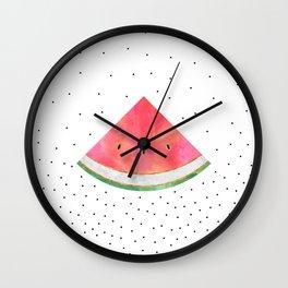 Pretty Watermelon Wall Clock