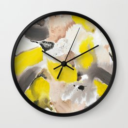 September Morning on the Island Wall Clock