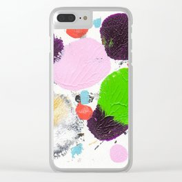 Art abstract 2 Clear iPhone Case