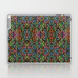 Kaleidoscope of Flowers Laptop & iPad Skin