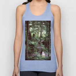 Vancouver Island Rainforest Unisex Tank Top