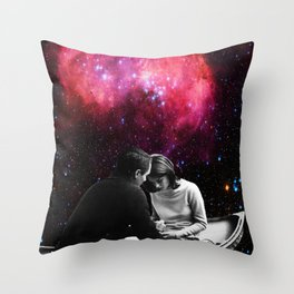 Space Boat II Throw Pillow
