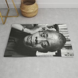 Baldwin and Books <3 Rug