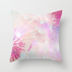 Wishes Wings Throw Pillow