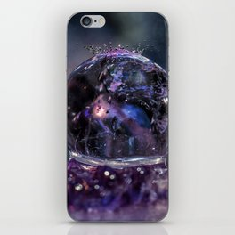 Crystal Ball Water drops iPhone Skin