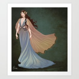 Elf Beauty Art Print