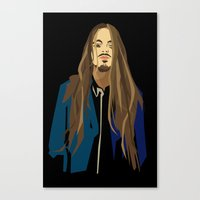 gangster Canvas Prints featuring Gangster by Elena Medero