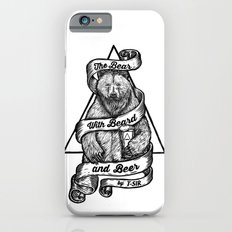 The Bear with Beard and Beer iPhone 6s Slim Case
