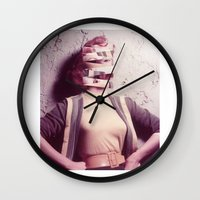 barbie Wall Clocks featuring Barbie by Jordan Clark