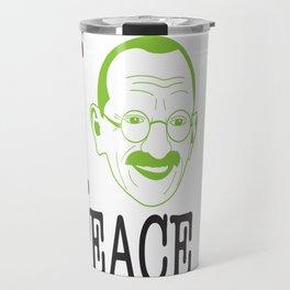 I __ Peace Travel Mug