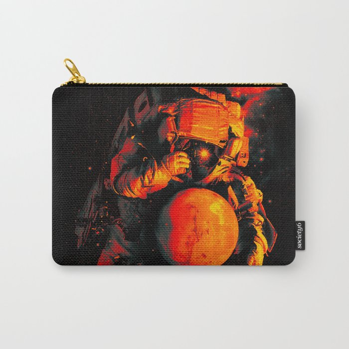 It's a Small Worls After All (Mars) Carry-All Pouch