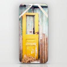 Yellow Door  iPhone & iPod Skin