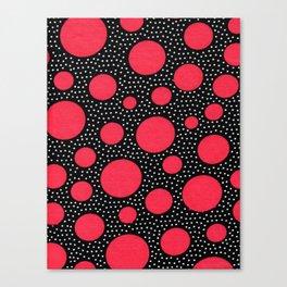 Galactic dots Canvas Print