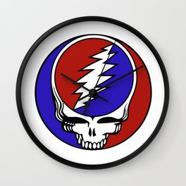 Steal Your Face Wall Clock