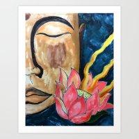 bali Art Prints featuring Bali by Carla Tucker