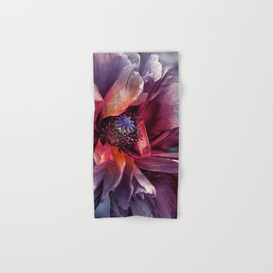Abstract poppy(2). Hand & Bath Towel