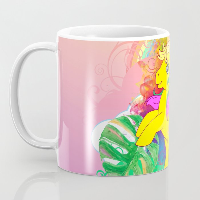 g1 my little pony tropical Tootie Tails Coffee Mug