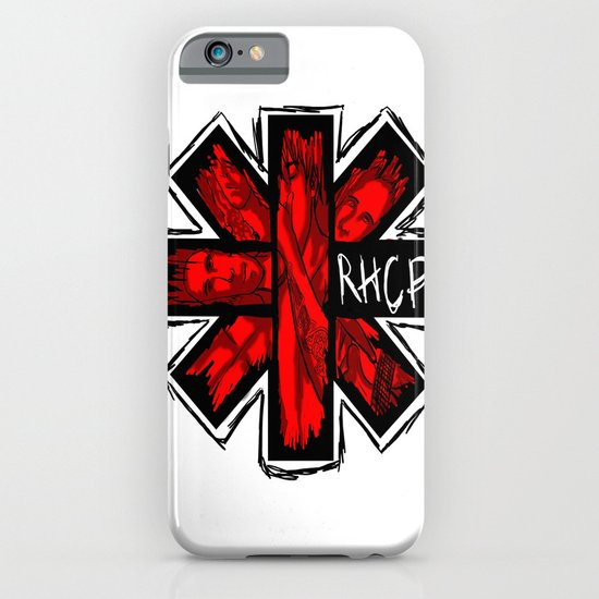 RHCP LOGO iPhone & iPod Case