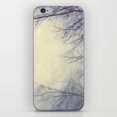 Creepy Trees Polaroid iPhone Skin