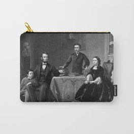 President Lincoln And His Family Carry-All Pouch