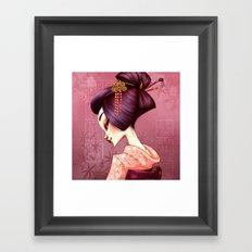Geisha Framed Art Print