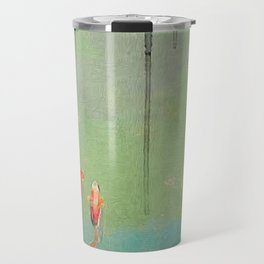 Koi Dreams Travel Mug